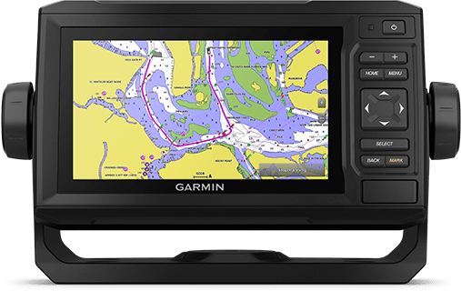 ECHOMAP UHD 62cv with chart screen