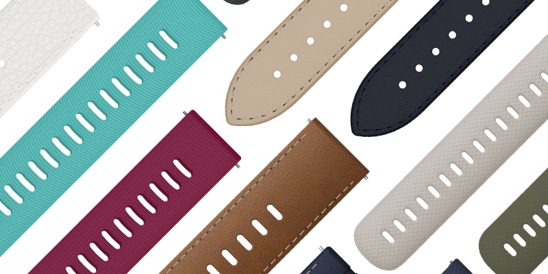 Switch up your style with a variety of accessory bands