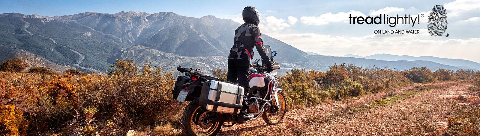 TREAD LIGHTLY MOTOCYCLE L D