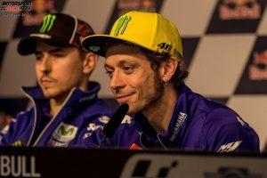 Jorge Lorenzo, Valentino Rossi - © GP-Fever.de