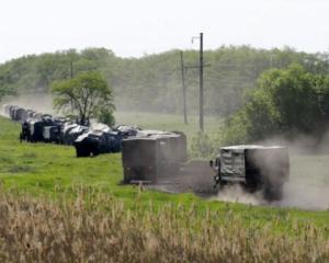Reuters зафіксувало велику колону російської військової техніки, яка прямує в бік кордону з Україною