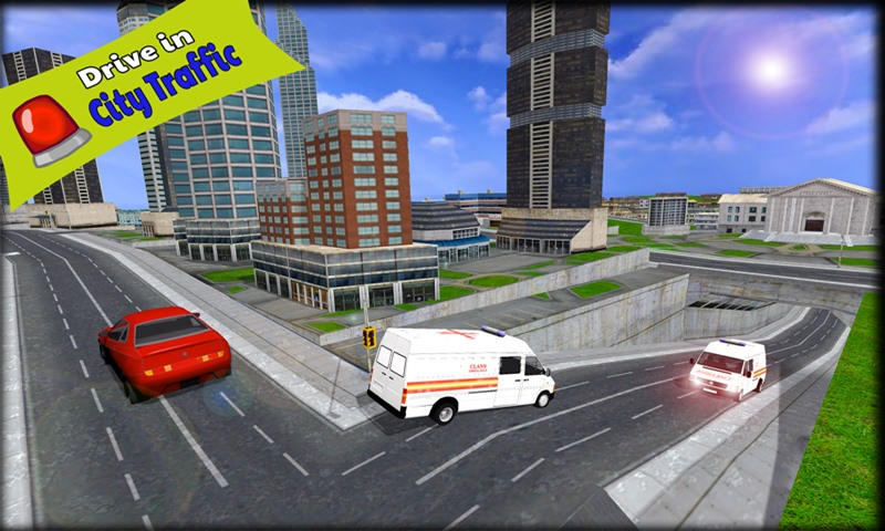 Free Ambulance Simulator Game APK Download For Android
