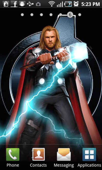 Free Thor Live Wallpaper APK Download For Android | GetJar