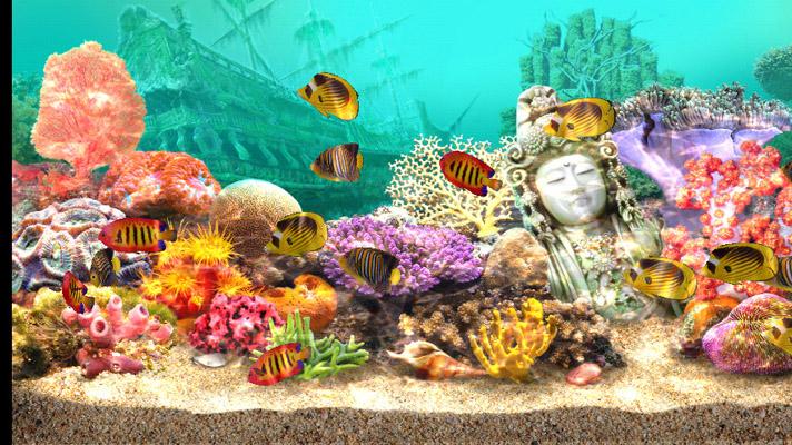 marine aquarium screensaver mac free