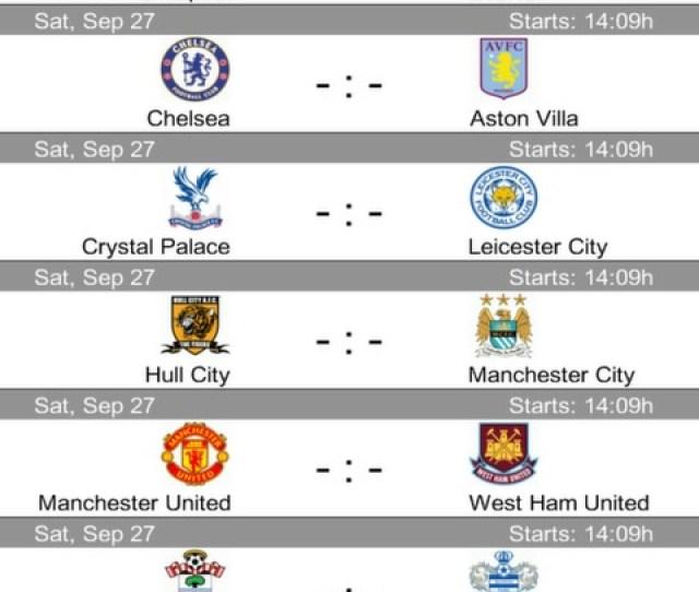 Play It Football Results App Screenshot 3 6