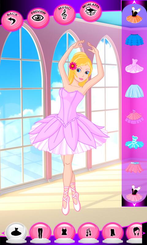 Free Ballerina Girls Dress Up Games APK Download For