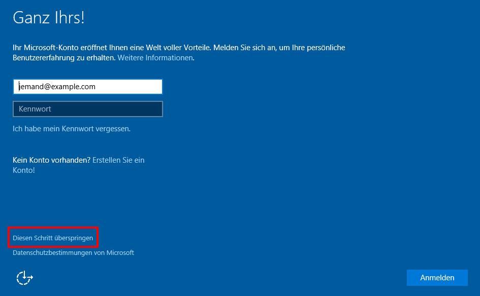 Windows 10 Ohne Microsoft Konto Installieren So Geht S