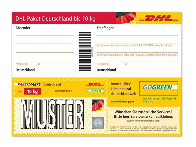 Paket Beschriften So Geht S Fur Dhl Hermes Und Co