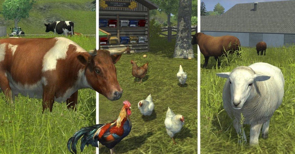 Landwirtschafts Simulator 17 Tiere Zchten Khe Schafe