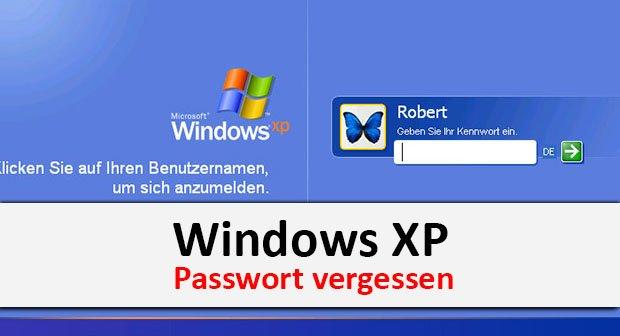 Windows Xp Passwort Vergessen So Geht S Wieder