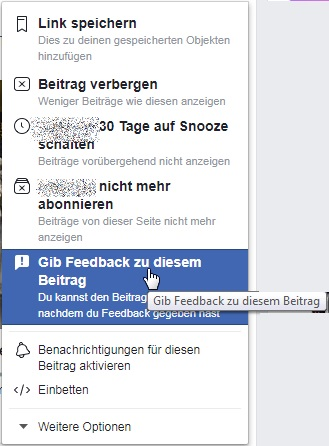 Facebook Inhalte Melden Fotos Beitrage Nutzer So Geht S