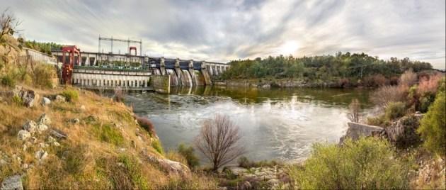 Presa de Azután - Alcolea de Tajo (Toledo), río Tajo.