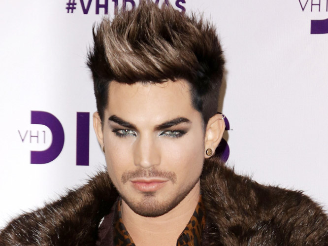 Adam Lambert: The American singer revealed he is inspired by a lot of British artists. He told the Daily Star: