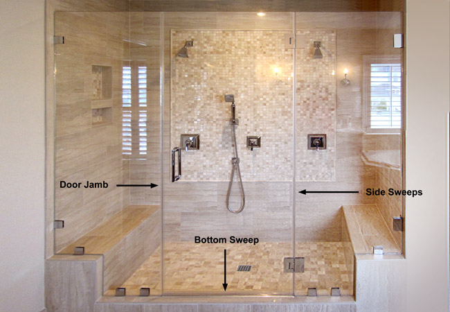 Buy Shower Sweeps Online Dulles Glass And Mirror
