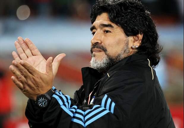 Image result for maradona argentina 2010