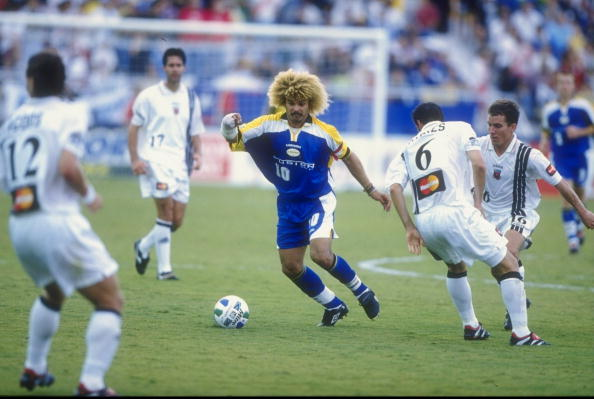 Miami Fusion midfielder and MLS legend Carlos Valderrama