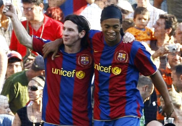Messi is magical, Ronaldo isn't - Ronaldinho