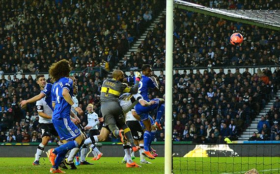John Obi Mikel Chelsea Derby County di babak ketiga Piala FA 05.012.014