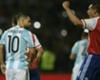 Sergio Aguero -Paulo Da Silva - Argentina – Paraguay Eliminatorias Sudamericanas 11102016