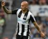 Newcastle United midfielder Jonjo Shelvey