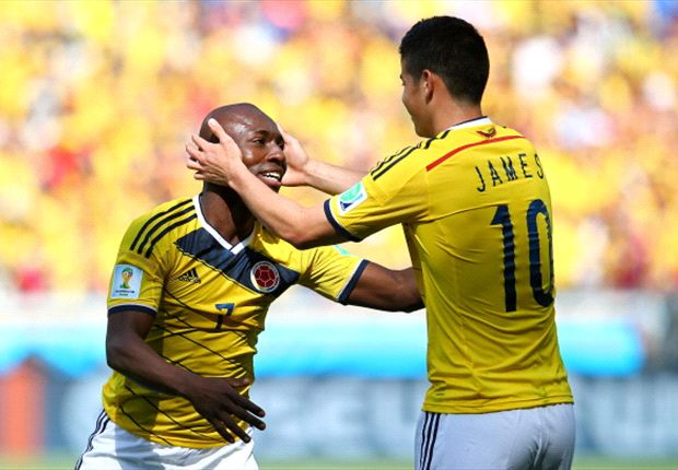 Colombia 3-0 Greece: Armero, Gutierrez & Rodriguez give Pekerman's men perfect start