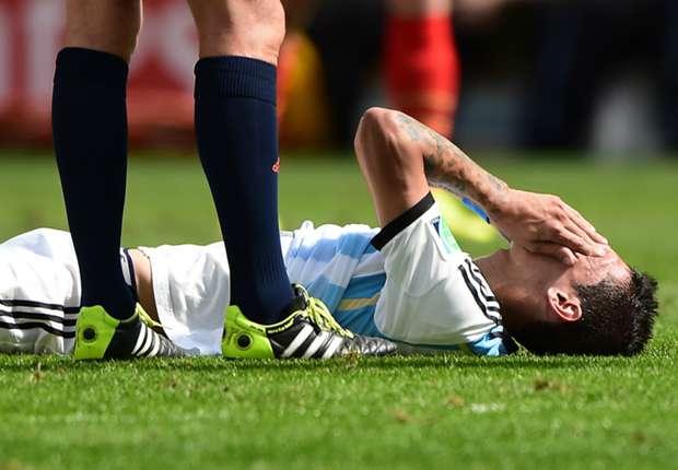 Médico diz que Real Madrid vetou a participação de Di María na final da Copa
