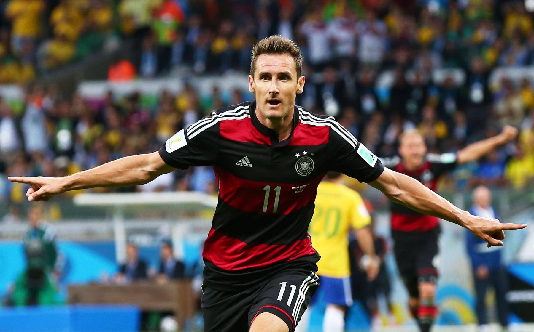 Resultado de imagem para Miroslav Klose copa do mundo 2014