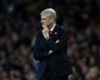 Arsene Wenger watches Arsenal against Lincoln