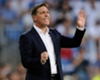Eduardo Berizzo during Celta Vigo's match with Real Madrid