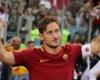 Francesco Totti al passo d'addio