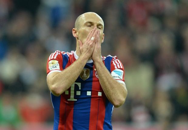 Robben: Bayern are not unbeatable