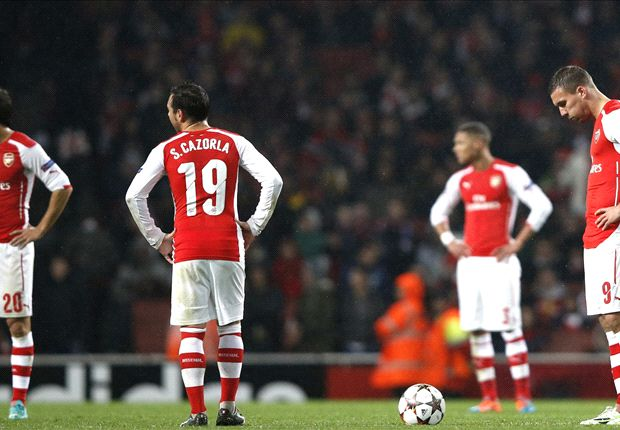 Are Arsenal forever destined to be Champions League also-rans?