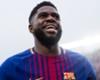 Barcelona defender Samuel Umtiti