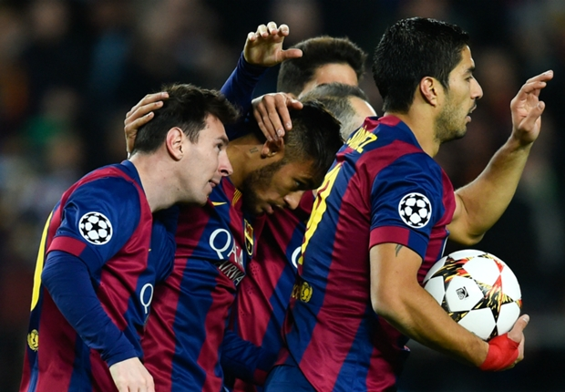 Barcelona 3-1 Paris Saint-Germain: Messi, Neymar & Suarez seal top spot for Blaugrana