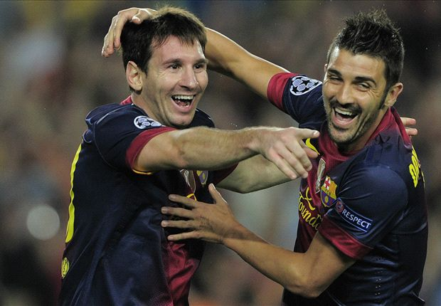 David Villa: Lionel Messi is the greatest of all time