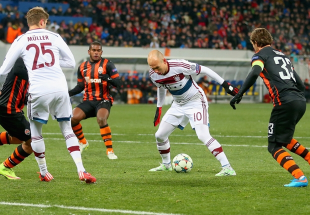'Bayern are a one-man team with Robben'