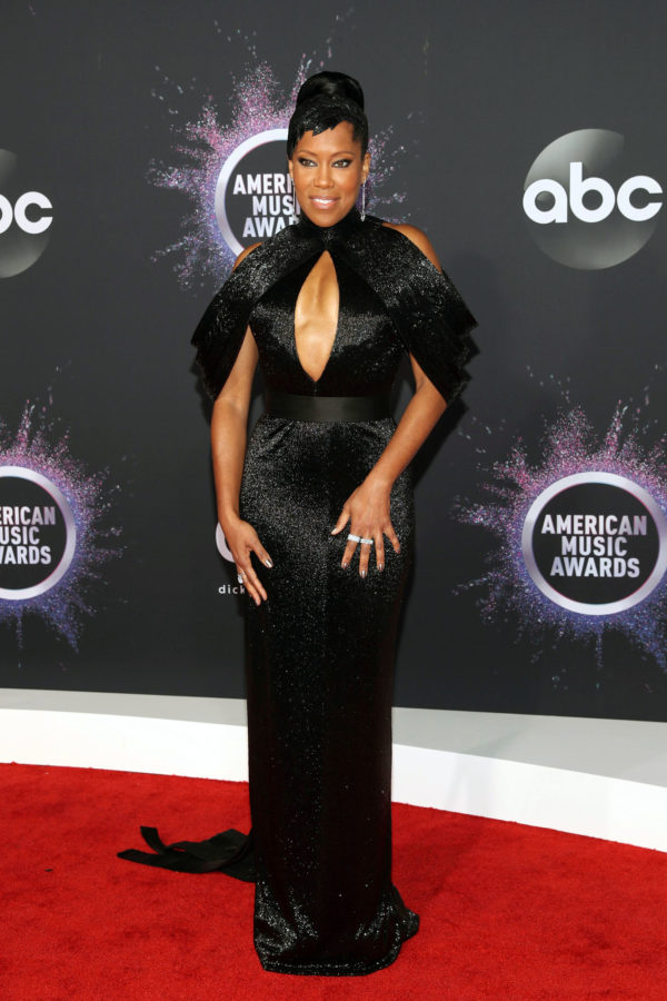 Image result for REGINA KING AT THE 47TH ANNUAL AMA AWARDS, 2019