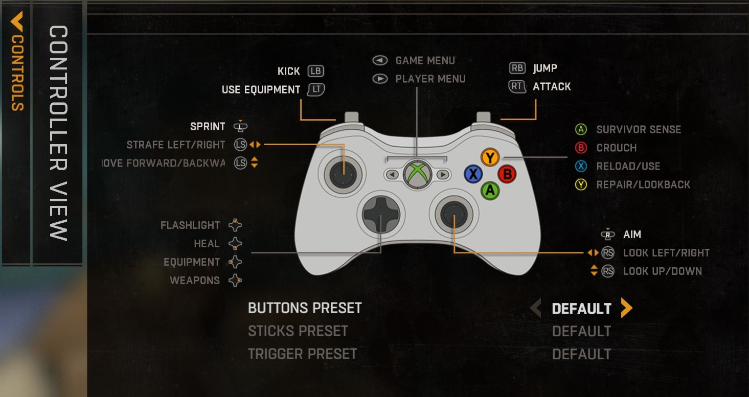 Dying Light Controls Amp Keyboard Commands On PS4 Xbox PC