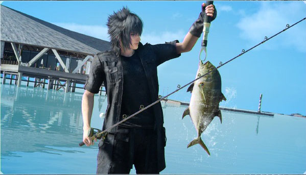 Image result for ffxv fishing