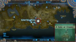 Zelda Breath Of The Wild Shrine Locations Shrine Maps For All Zelda Maps  Eldin Eldin Shrines Map Zelda BotW Ke Nai Shakah Shrine Major Test Of  Strength ...