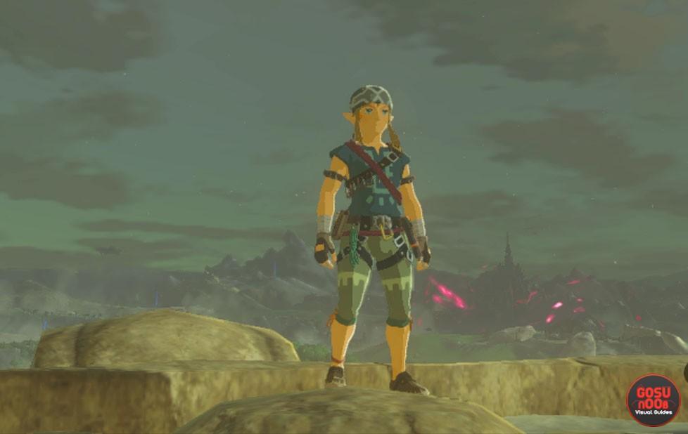 zelda breath of the wild climbing armor