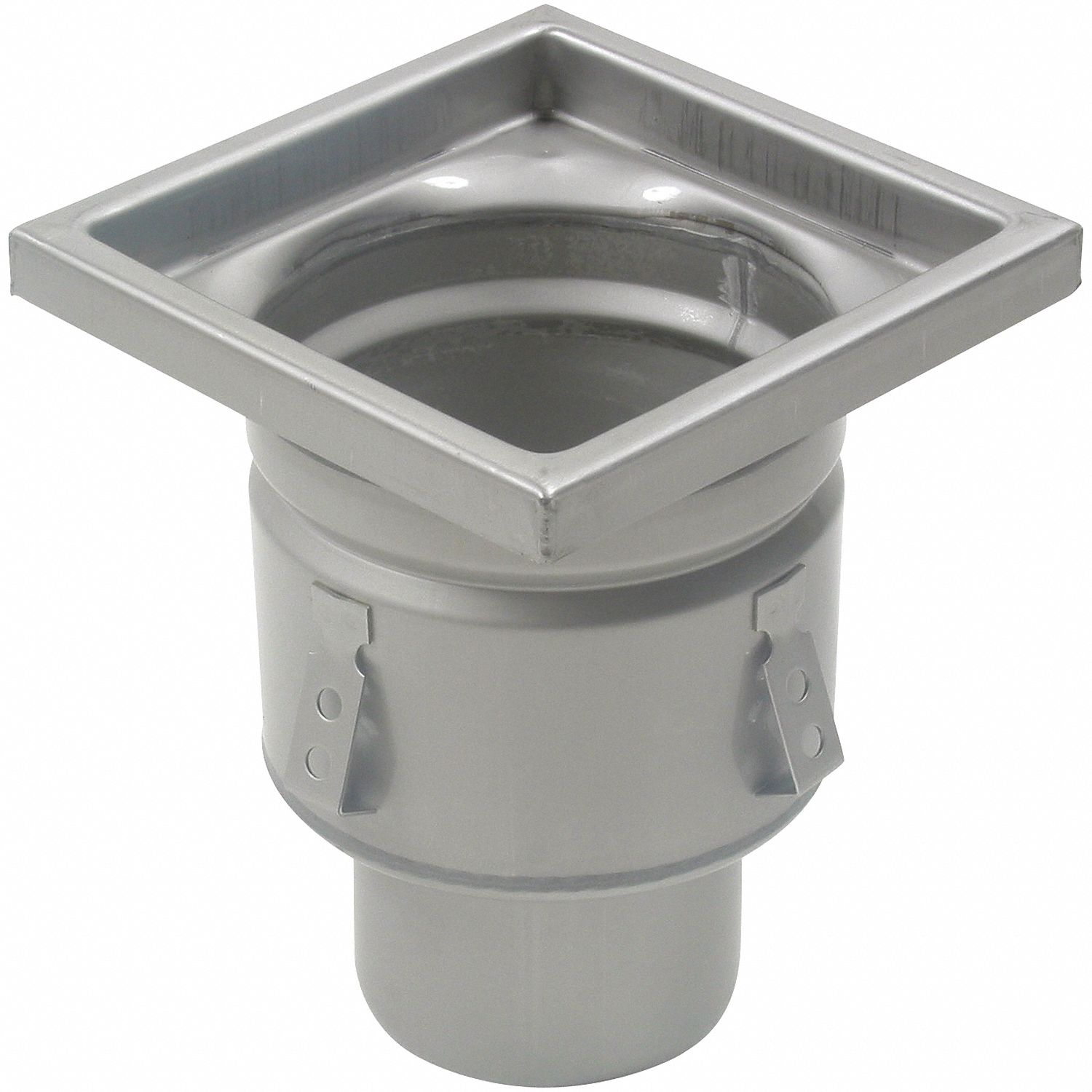 304 stainless steel square floor drain no hub pipe dia drains 3 in