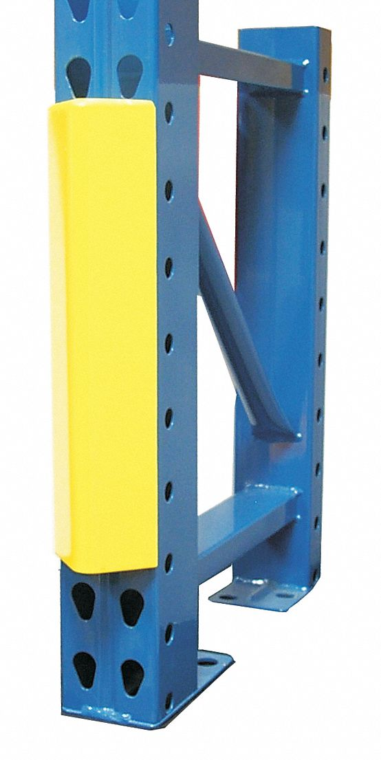 3 inw x 18 1 8 inh steel pallet rack guard