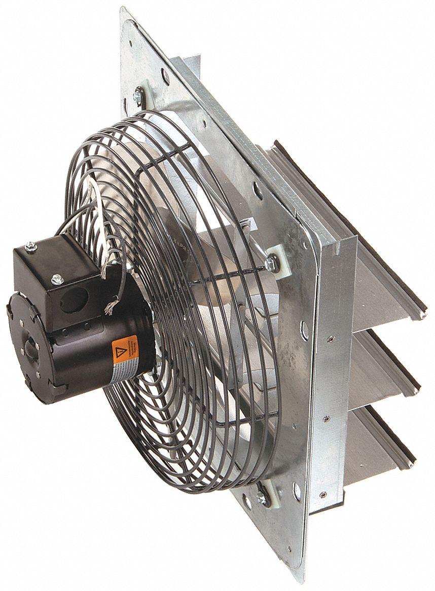 exhaust fan 10 in 115v 1 25hp 1550rpm