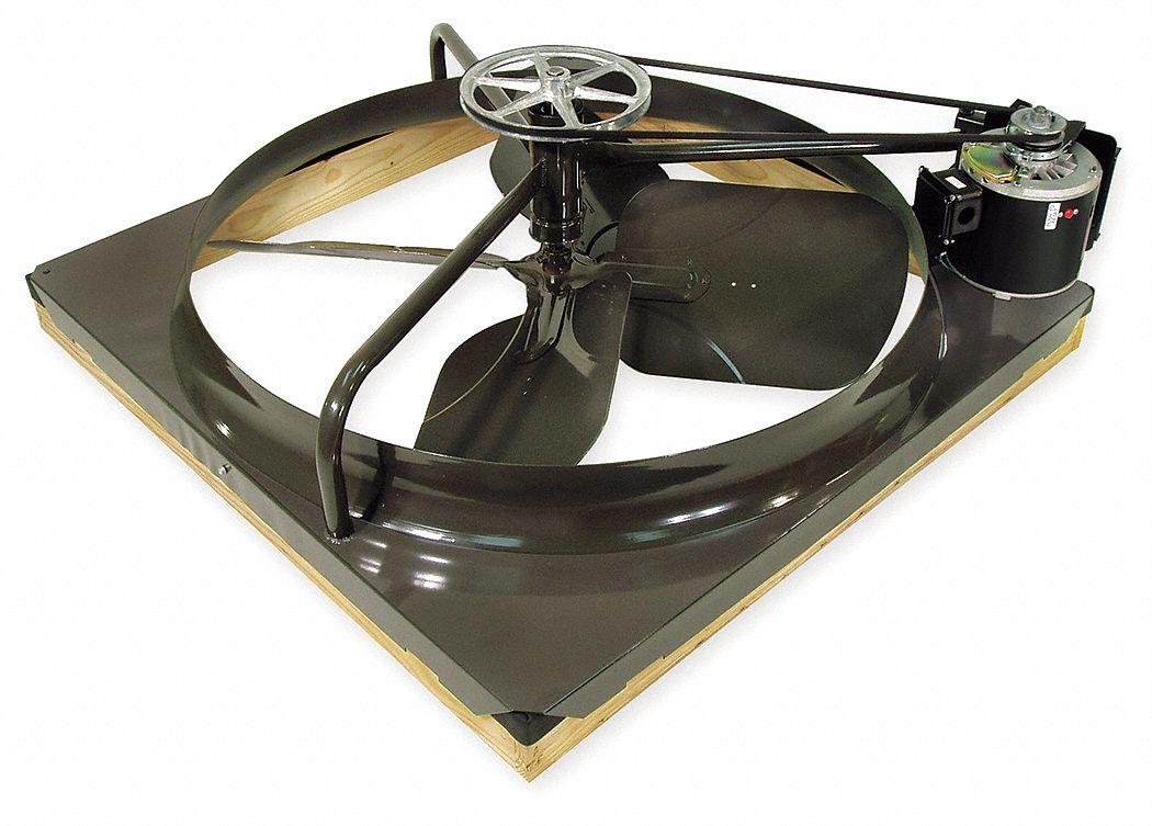 2 speed belt drive whole house fan 30 in blade dia