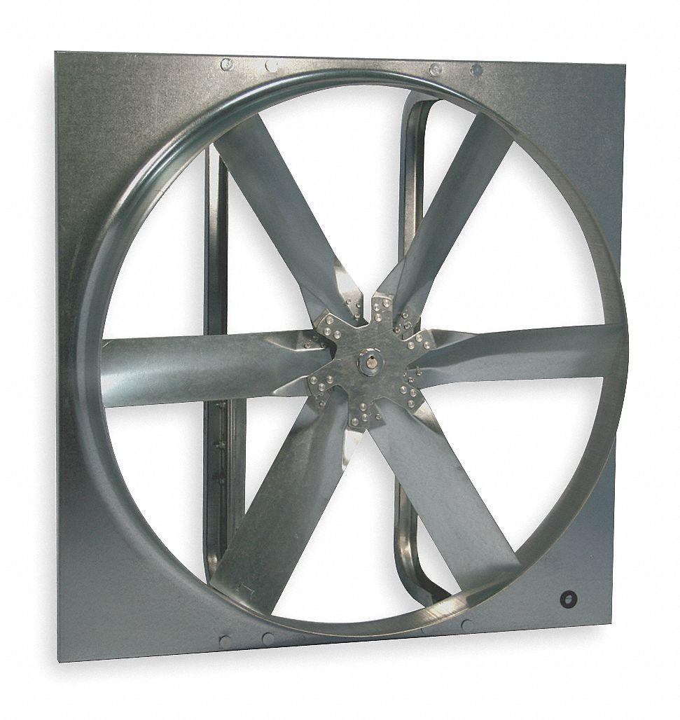 20 in dia exhaust fan standard duty belt drive less drive package