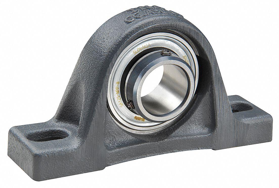 pillow block bearing number of bolts 2 ball bearing type 50 mm bore dia