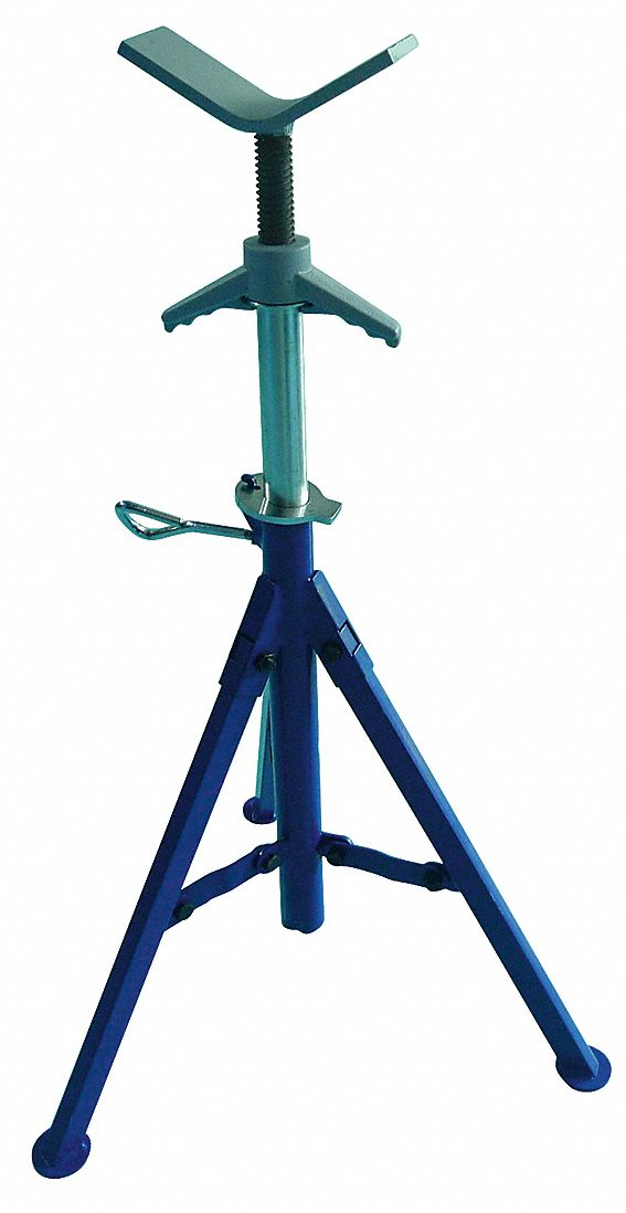 WESTWARD V Head Pipe Stand 18 To 12 Pipe Capacity 28