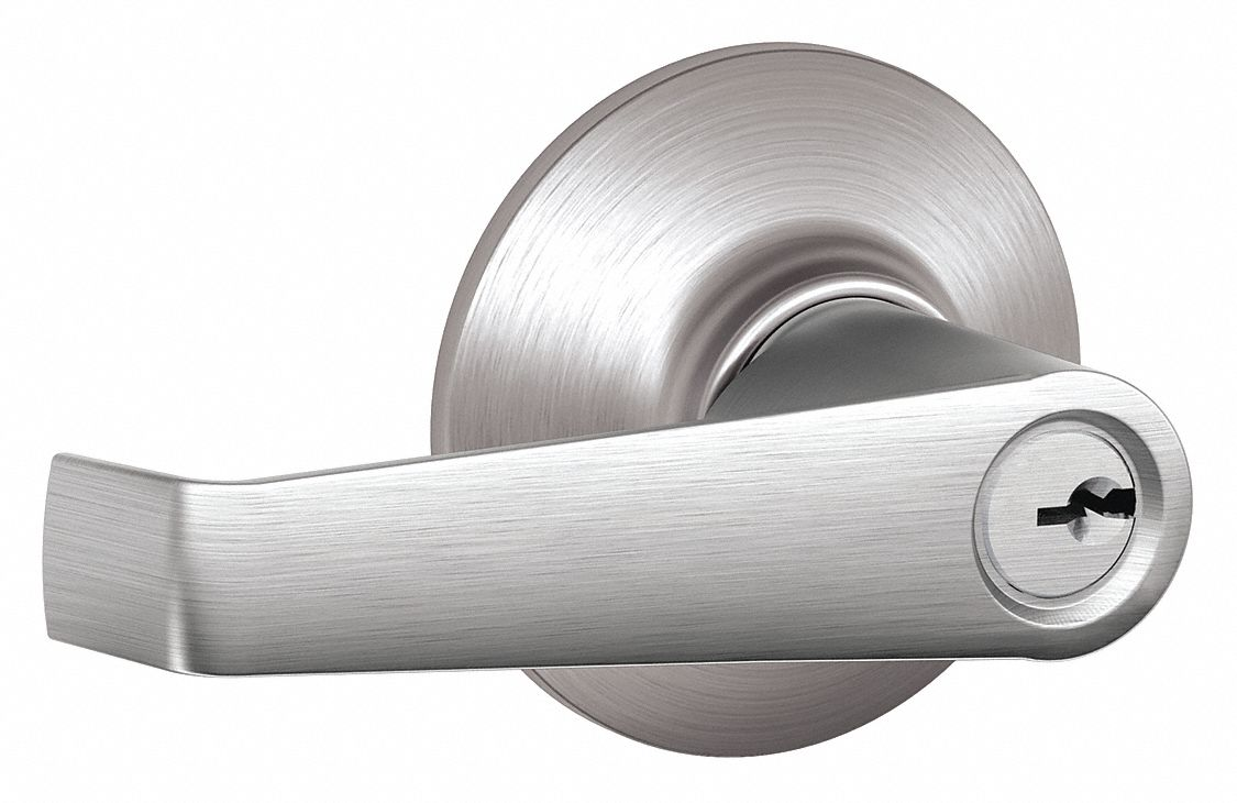SCHLAGE Lever Lockset Mechanical Entrance Grd 2 36Z226F51A ELA 626 Grainger