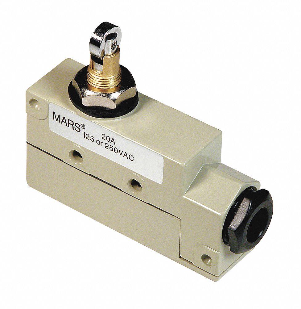 roller plunger door switch voltage 120 208 230 3 in width 2 in depth 2 1 2 in height